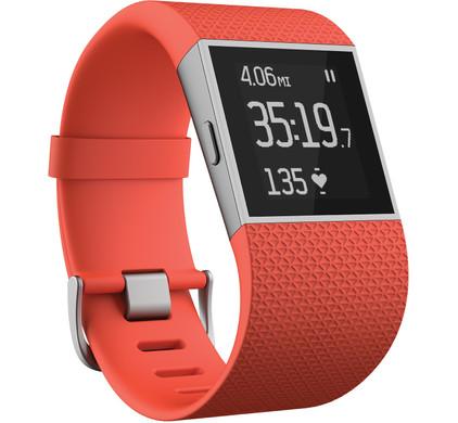 Fitbit Surge Tangerine L kopen