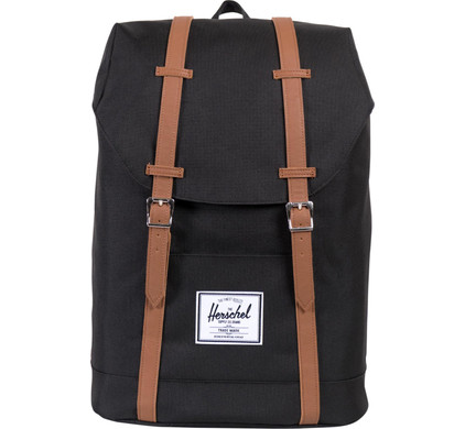 Herschel Retreat Black/Tan PU