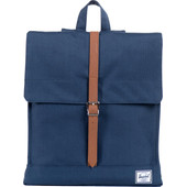 Herschel City Mid-Volume Navy/Tan PU