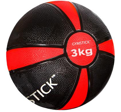 Gymstick Medicine bal - 3 kg - Rood / Zwart