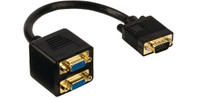 Valueline VGA Splitter - VGA Male - 2x VGA Female 0,2 m