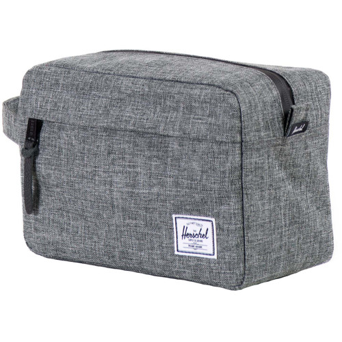 Herschel Travel Chapter Raven Crosshatch