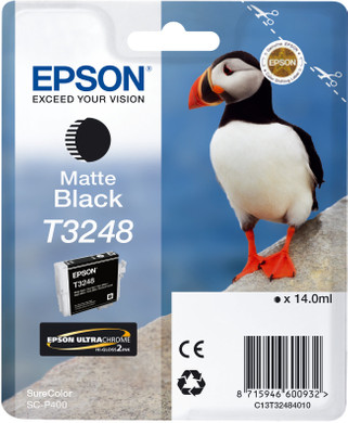 Epson T3248 Cartridge Matzwart (C13T32484010)