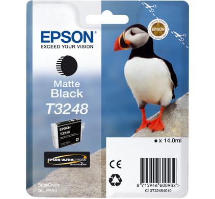 Epson T3248 Cartridge Matzwart (C13T32484010)