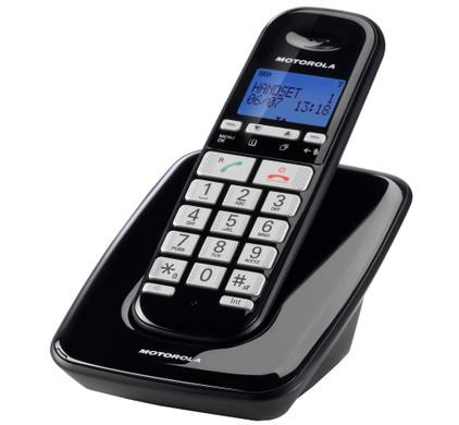 Motorola S3001 Zwart