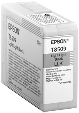 Epson T8509 Cartridge Licht Lichtzwart (C13T850900)