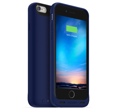 Mophie Juice Pack Reserve Apple iPhone 6/6s Blauw