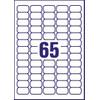 Mini Etiketten Transparant 38,1x21,2mm - 3