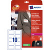 Avery Naambadge Etiketten Wit 50x80mm 20 vellen