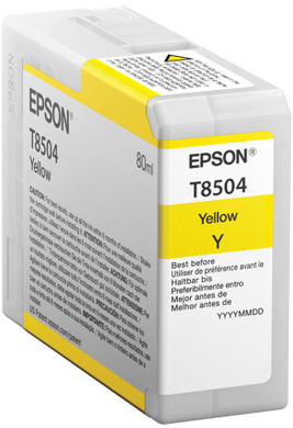Epson T8504 Cartridge Geel (C13T850400)