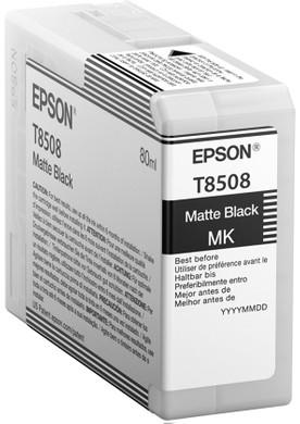 Epson T8508 Cartridge Matzwart (C13T850800)