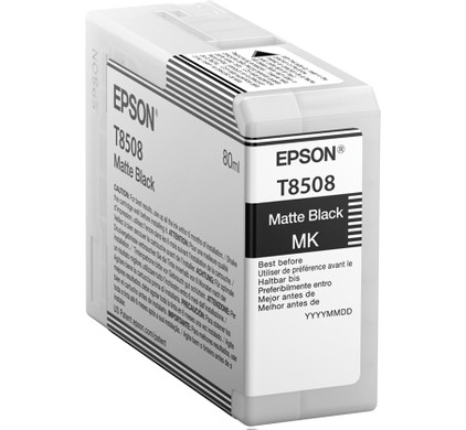 Epson T8508 Cartridge Matzwart (C13T850800)