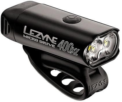 Lezyne Micro Drive 400XL Zwart/Hi Gloss