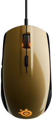 SteelSeries Rival 100 Goud (Alchemy Gold)