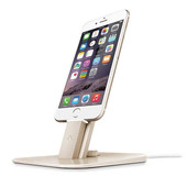 Twelve South HiRise Deluxe Apple iPhone iPad Stand Goud