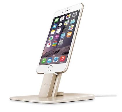 Twelve South HiRise Deluxe Apple iPhone iPad Stand Goud