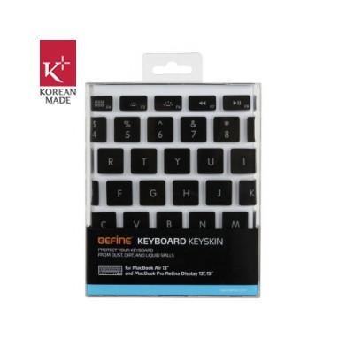 Image of Befine 13'' MacBook Air / Pro / Retina Keyskin Zwart