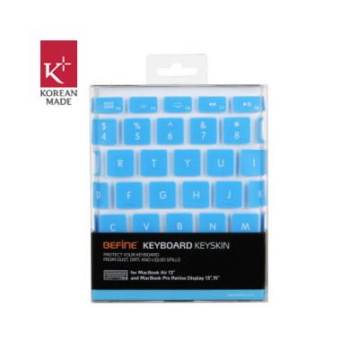 Image of Befine 13'' MacBook Air / Pro / Retina Keyskin Blauw