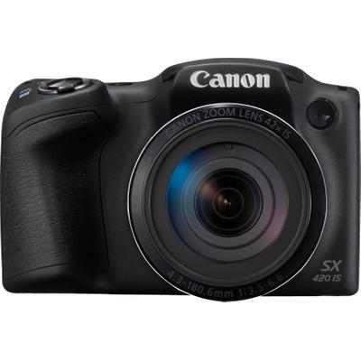 Image of Canon Foto Camera PowerShot SX420 IS 20.5 Megapixel, WiFi, NFC (zwart)