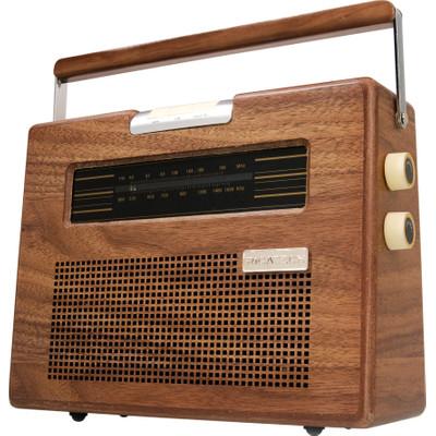 Ricatech PR390 draagbare radio nostalgie