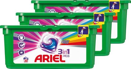 Ariel 3in1 Pods Colour & Style Kwartaalbox