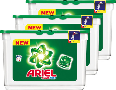 ariel excel tabs regular