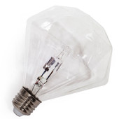 Frama Diamond Clear Halogeenlamp E27 18W Ø115mm