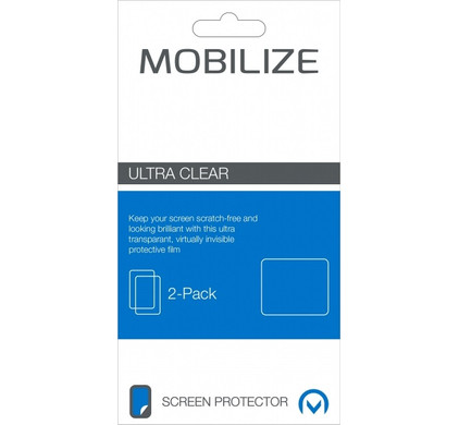 Mobilize Screenprotector Clear Galaxy Tab E 9.6 Duo Pack