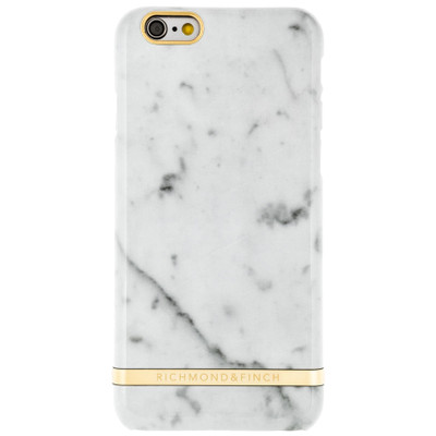 Richmond & Finch Marble Glossy Apple iPhone 6/6s Wit