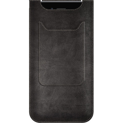 Image of Agent 18 Leather Pocket Apple iPhone 6 Plus/6s Plus Zwart