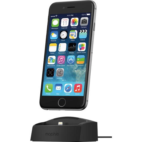 Mophie Desktop Charging Dock Apple iPhone Zwart