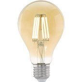 Eglo LED-lamp E27 Amber 4W Ø75mm