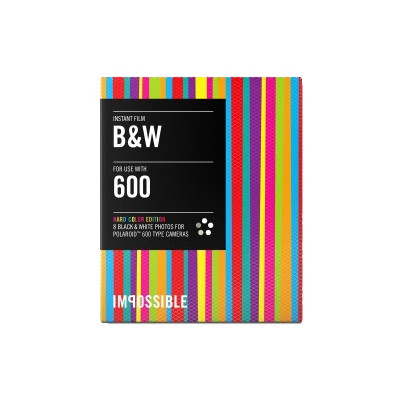 Image of Impossible 600 B&W HARD COLOR Edition-Frame