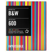 Impossible Zwart-wit Film met Gekleurde Rand voor Polaroid 600