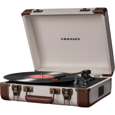 Image of Crosley Executive Creme/Bruin