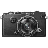 Olympus PEN-F + 17mm f/1.8 Zwart