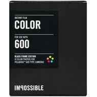 Impossible Kleurenfilm met Zwarte Rand voor Polaroid 600