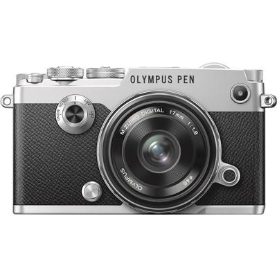 Image of Olympus PEN-F + 17mm f/1.8 Zilver