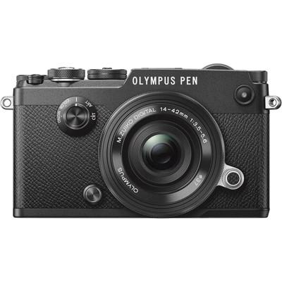 Image of Olympus PEN-F + 14-42mm Zwart
