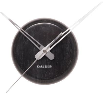 Karlsson Klok Marble Dot - Marmer - Zwart
