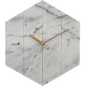 Karlsson Marble Hexagon Wit