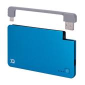 Xqisit Powerbank 3000 mAh Micro USB Blauw