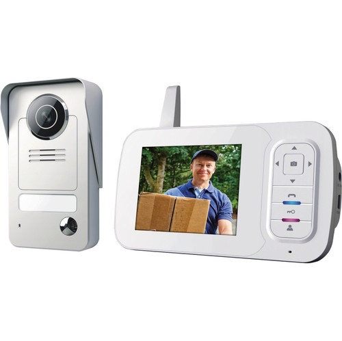 Smartwares Draadloze Video Intercom VD38W