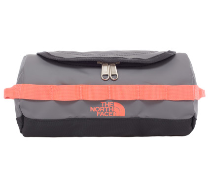 The North Face Base Camp Travel Canister Grey/Coral - S