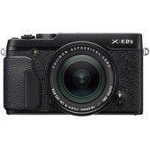Fujifilm X-E2S + 18-55mm f/2.8-4 R LM OIS Zwart