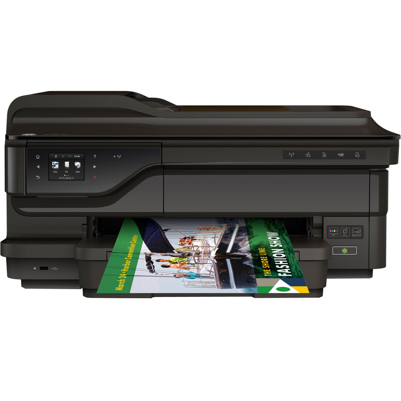Inkjetprinter HP Officejet 7612