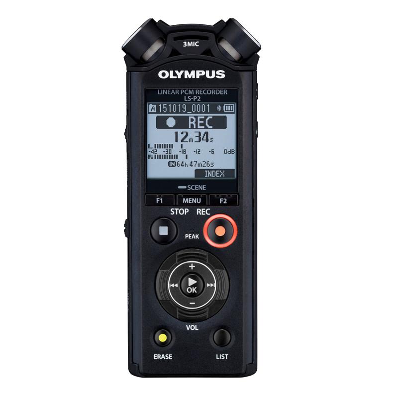 Olympus Mobiele audiorecorder Zwart