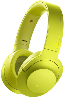 Sony MDR-100ABN Geel
