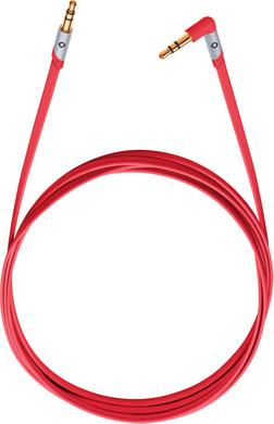 Oehlbach i-Jack 3,5 mm naar 3,5 mm Kabel 1,5 Meter Rood