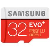 Samsung microSDXC Evo+ 32 GB Class 10 + SD Adapter